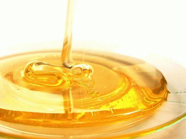 мед льется