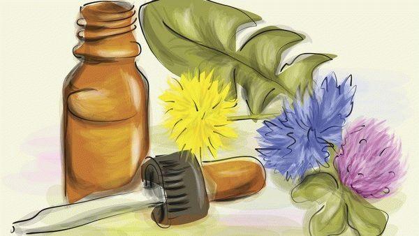 рисунок гомеопатического лекарства