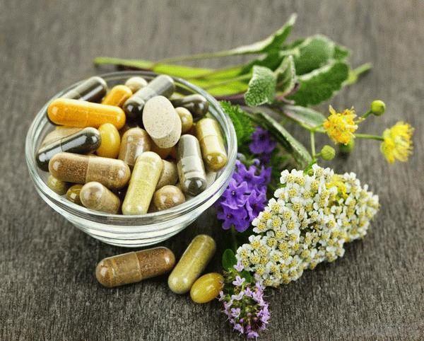 таблетки на травах