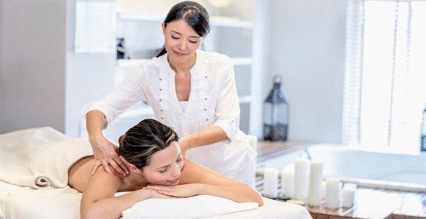 массажист и клиентка