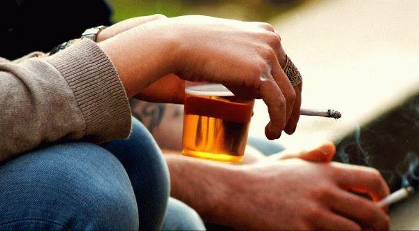 пиво и сигареты