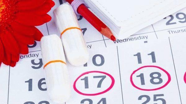 календарь, тампоны