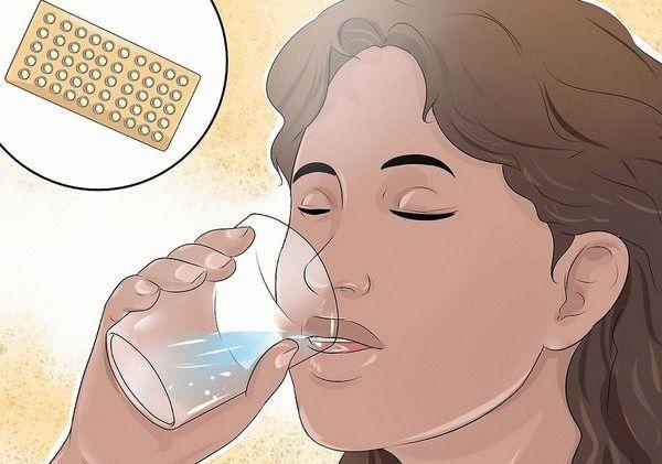 пьет гормоны