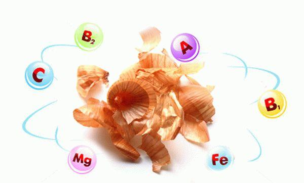 состав луковой шелухи