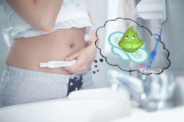 беременная беспокоится о выделениях