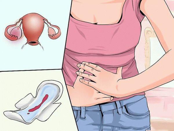 боль в животе и кровянистые выделения
