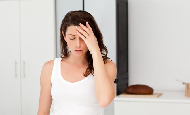 слабость у женщины
